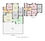 Floorplan of Sanderstead Avenue, London, NW2 1SG