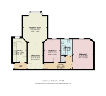Floorplan of Moreland Court, Finchley Road, Childs Hill, London, NW2 2PL