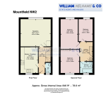 Floorplan of Mountfield, Granville Road, Childs Hill, London, NW2 2BA