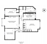 Floorplan of Wendover Court, Finchley Road, Childs Hill, London, NW2 2PH