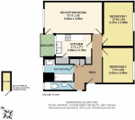 Floorplan of Hermitage Court, Hermitage Lane, Childs Hill, London, NW2 2HA